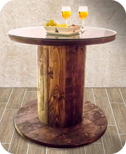 Tavolini con bobine avvolgicavi elettrici e telefonici for Arredamento marino fai da te