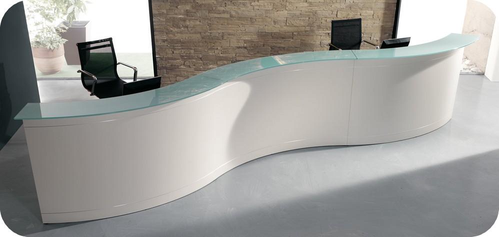 Banco reception per centro estetico cura della pelle for Arredamento reception estetica