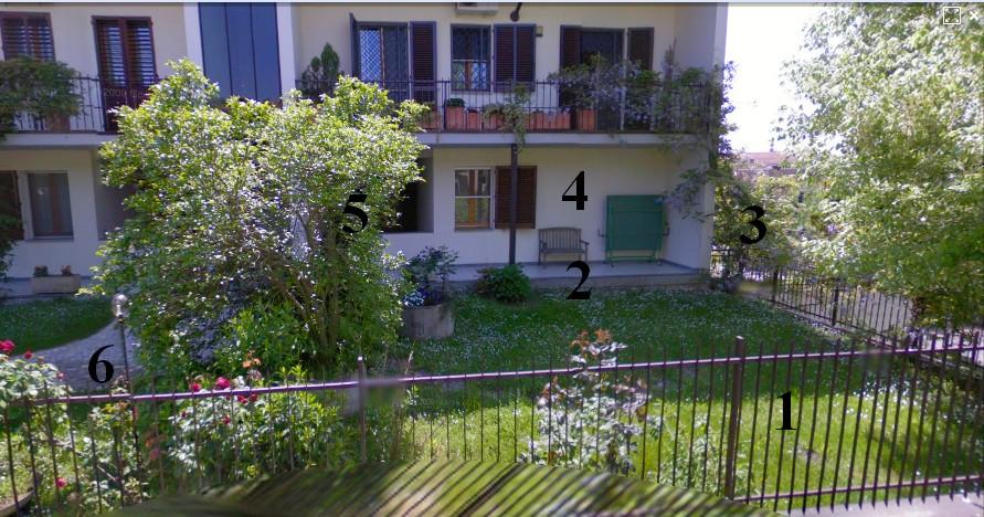Vendita casa pavia foto giardino esterno - Ingresso giardino ...