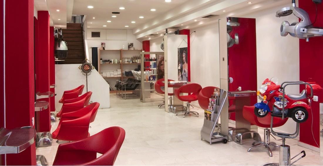 mobili e arredamento per negozio parrucchiereuomodonna