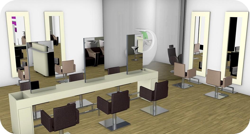 progettazione arredamenti negozi parrucchiere