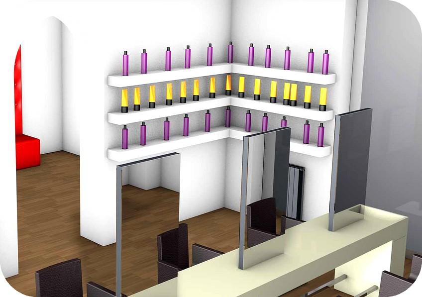 Angolo bar da salotto in cartongesso arredamenti negozi for Jumbo arredamenti