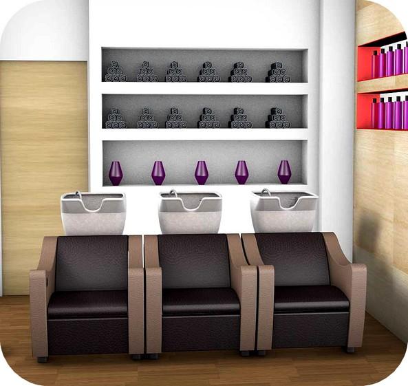 Progettazione arredamenti negozi parrucchiere for Capelli arredamenti