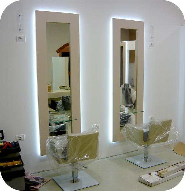 Illuminazione Salone Parrucchiera: Flos illuminazione esterni applique modern...