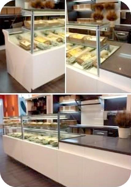 Occasione arredamenti panetteria focacce e dolci gastronomia for Arredamento per salumeria