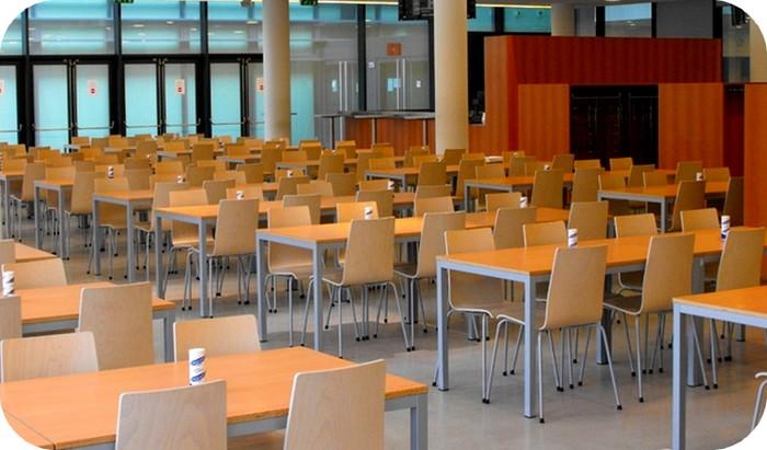 tavoli sedie mensa chimiche officina meccanica industria