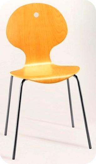 Prezzo sedie ferro legno multistrato faggio anilina ciliegio