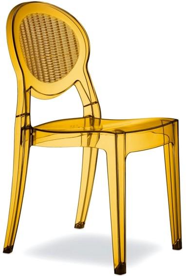 Sedie Plastica Trasparente Prezzi.Sedia Plastica Trasparente Colorata Bar Caffe Per Esterno
