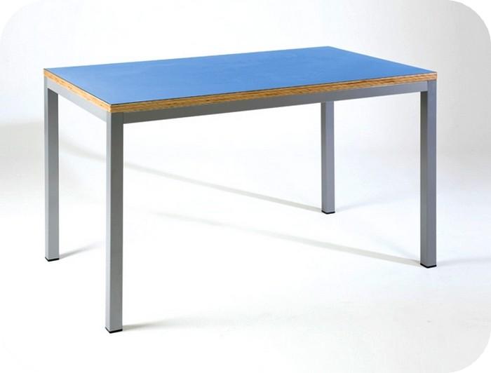 Prezzo tavoli mensa gambe smontabili piano legno laminato for Tavolo 40x40