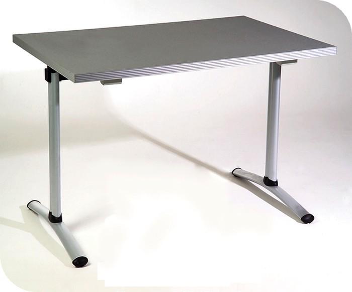 Tavoli mensa piano su trave gambe tubo sagomate cromato for Tavolo 40x40