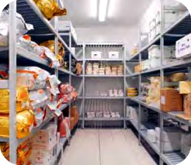 Magazzino per alimenti caratteristiche miscelatori - Alimenti per andare in bagno ...