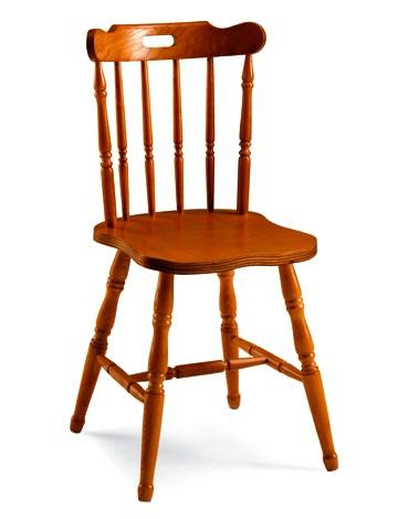 sedia in legno stile vecchia america