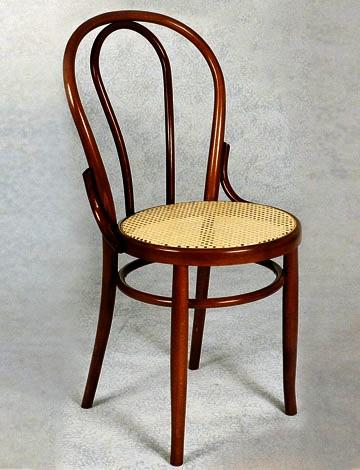 Sedie in legno stile francesina for Sedia design paglia di vienna