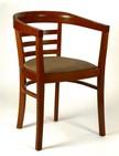sedia in legno e stoffa per alberghi