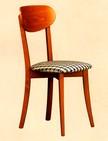 sedie in legno con sedili imbottiti 70