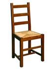sedia con sedile in paglia per locali rustici 247