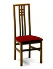 sedia per ristoranti con schienale alto in legno 29