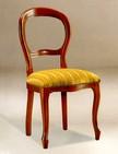 poltroncine in legno con sedile imbottito per alberghi e sale pranzo 157