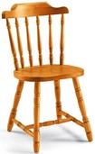 sedia vecchia america in legno di pino 207
