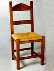 sedia rustica in legno e paglia per enoteca cantine 220