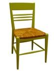 sedia in faggio con sedile in paglia 178