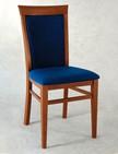 sedie in legno con schienale e sedile in legno per alberghi e ristoranti 85