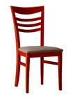 sedie in legno con sedile imbottito 67
