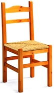 sedie in legno di pino per taverna 212