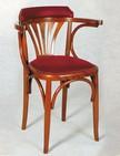 sedie per bar con braccioli e sedile imbottito 267
