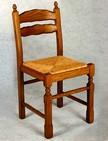 sedie in legno con sedile paglia per trattorie 189