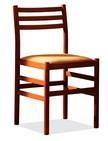 sedia in legno per camera albergo 171