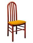 sedia con schienale curvo in legno per ristoranti 32