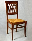 sedie in legno con sedile impagliato 135
