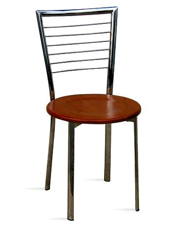 Sedia cromata per bar e gelaterie - Tavoli e sedie per gelateria ...