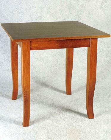 Tavolo in legno quadrato o rettangolare for Costo del solarium per piede quadrato