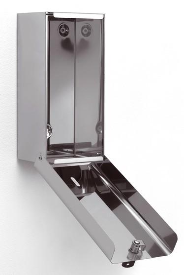 Porta carta igienica a foglietti acciaio inox lucido for Accessori bagno in acciaio