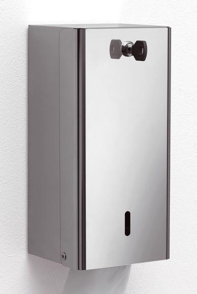 Porta carta igienica a foglietti acciaio inox lucido - Porta carta igienica ...