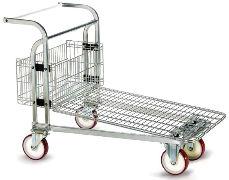 carrelli cash carry ruote pivottanti magazzini ingrosso