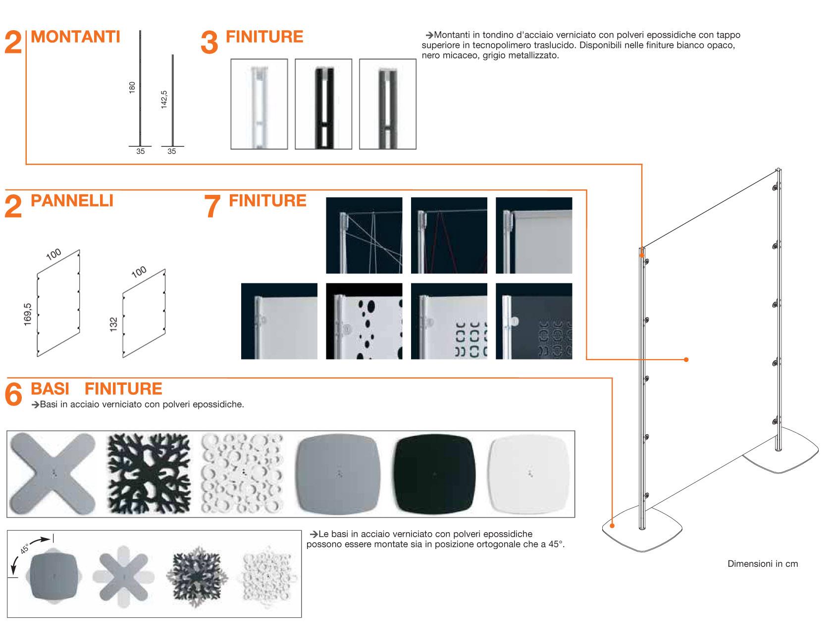 Mobili separatori pareti mobili per dividere la zona giorno e notte armadio camera da letto in - Mobili separatori ...