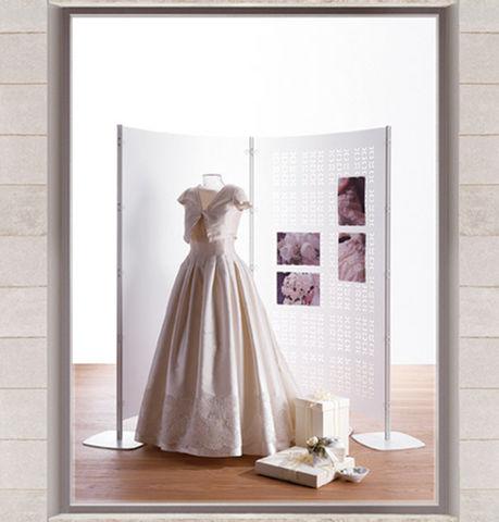 arredo negozio abbigliamento sposa