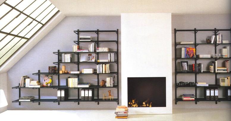 Libreria componibile socrate mobiletti piani vetro for Arredare libreria