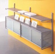 Libreria componibile socrate mobiletti piani vetro - Mobiletti in vetro ...