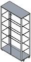 vetrina per esposizione accessori