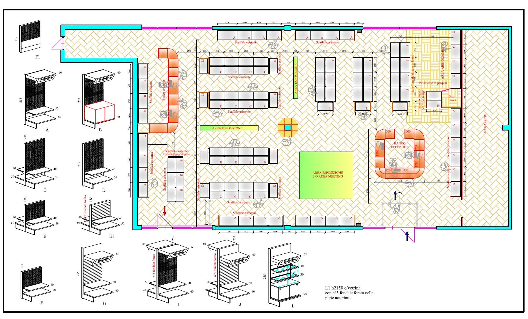 Negozi arredamento e progettazione venezia ispirazione for Progettazione di negozi