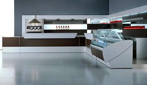 Arredamenti interni bar ristoranti pub discoteche locali for Arredamento pasticceria prezzi