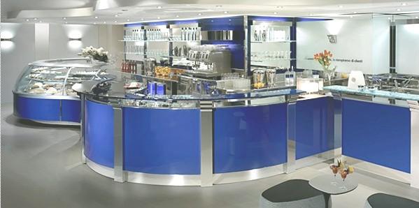 Arredo bar ristoranti pasticcerie arredamento gelaterie for Arredamento pasticceria prezzi