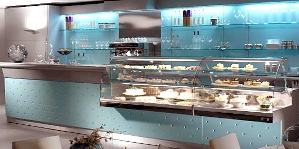 Arredamento pasticceria prezzi tavolo consolle allungabile for Bar arredamento
