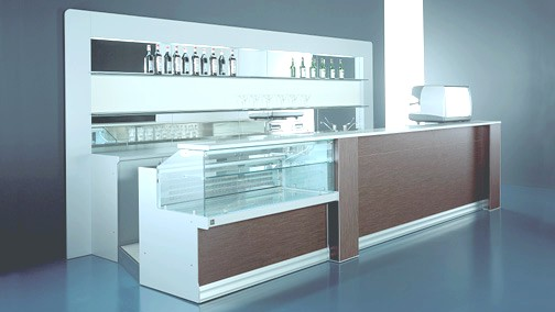 Arredo bar ristoranti pasticcerie arredamento gelaterie for Banchi bar e arredamenti completi