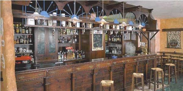 Arredamento western style trattamento marmo cucina for Arredamento per pub e birrerie