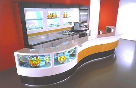 Listino prezzi banconi bar mulino elettrico per cereali for Banconi bar usati prezzi